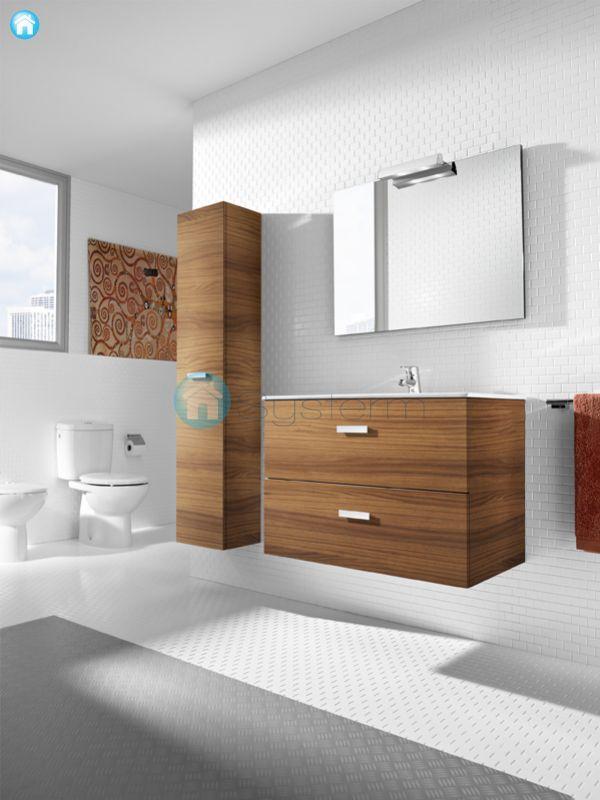 Muebles De Baño Vitoria: Unik 60 cm z szufladami Roca Victoria A855854201 Wenge – systermpl